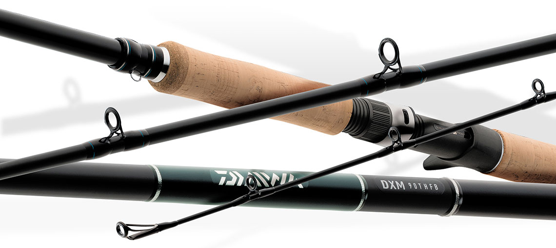 Daiwa dxm muskie casting rod for Musky fishing rods