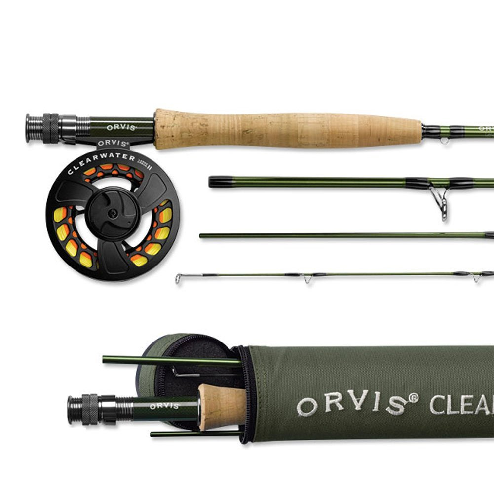 Orvis clearwater fly rod and reel combo for Trout fishing rod and reel