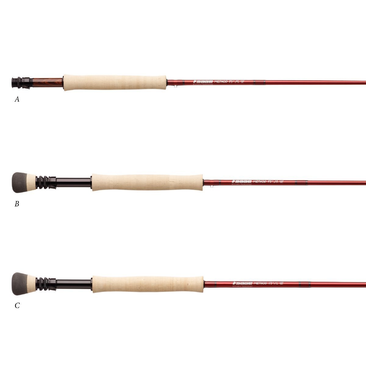 Sage method fly rod for Fly fishing rods