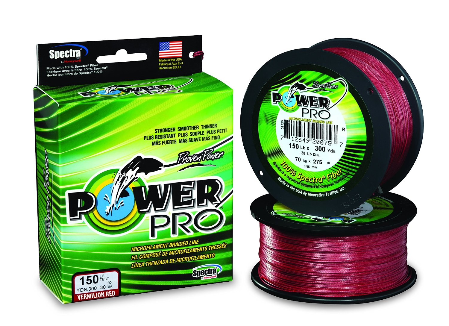 Power pro braided fishing line fishingnew for Power pro fishing line