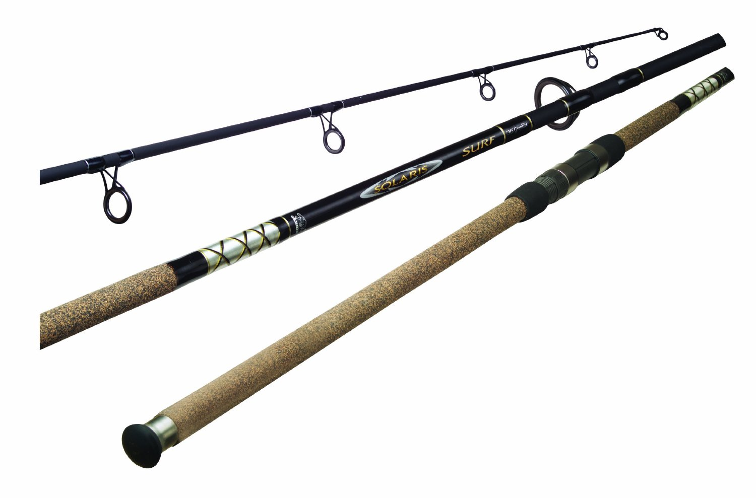 okuma solaris surf fishing rods ss c 1102h 2 fishingnew